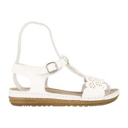 Jump OUTLET - Jump 14769 Beyaz Kadın Sandalet
