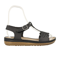 Jump OUTLET - Jump 14769 Siyah Kadın Sandalet