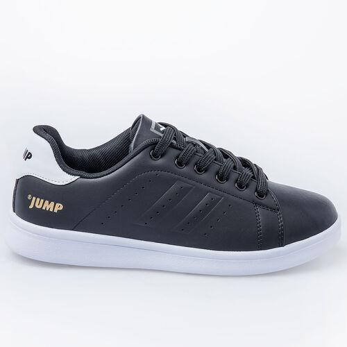 Jump 15306 Siyah - Beyaz Kadın Spor Ayakkabı