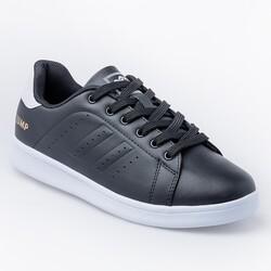 Jump 15306 Siyah - Beyaz Kadın Spor Ayakkabı - Thumbnail