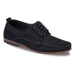 Jump OUTLET - Jump 21811 Siyah Erkek Deri Ayakkabı