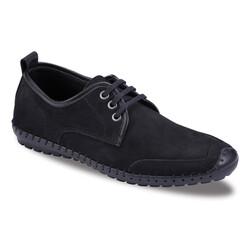 Jump OUTLET - Jump 21820 Siyah Erkek Deri Ayakkabı