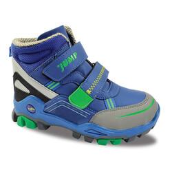 Jump - Jump 24219 Saks Mavi - Neon Yeşil Erkek Çocuk Bot
