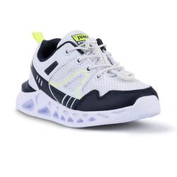 Jump - Jump 24742 Beyaz - Lacivert - Neon Yeşil Uniseks Çocuk Spor Ayakkabı (1)