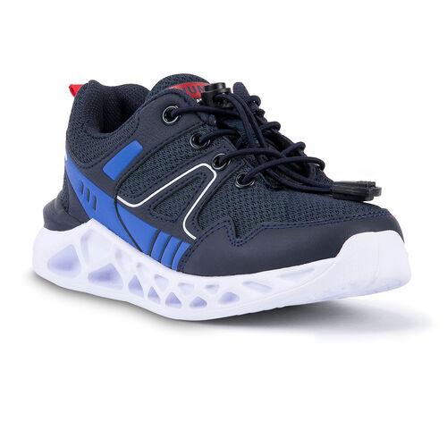 Jump 24742 Lacivert - Beyaz - Royal Mavi Erkek Çocuk Spor Ayakkabı