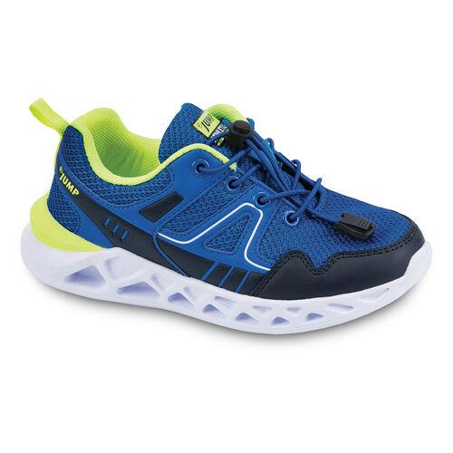 Jump 24742 Royal Mavi - Lacivert - Neon Yeşil Erkek Çocuk Spor Ayakkabı