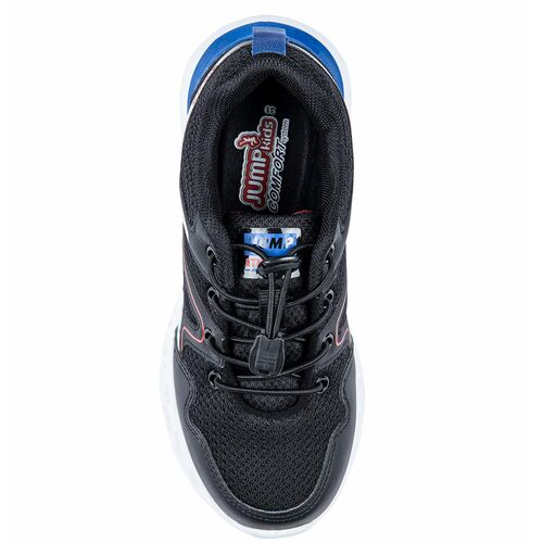 Jump 24742 Siyah - Beyaz - Kırmızı Erkek Çocuk Spor Ayakkabı