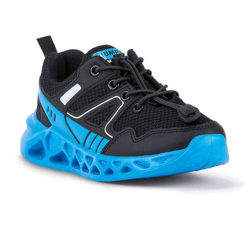 Jump 24742 Siyah - Mavi Erkek Çocuk Spor Ayakkabı