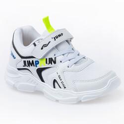 Jump - Jump 24747 Beyaz - Siyah Uniseks Çocuk Spor Ayakkabı (1)