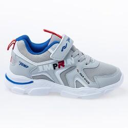 Jump - Jump 24747 Gri - Royal Mavi Erkek Çocuk Spor Ayakkabı