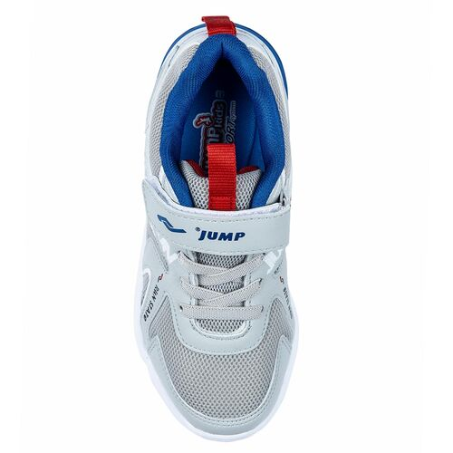 Jump 24747 Gri - Royal Mavi Erkek Çocuk Spor Ayakkabı