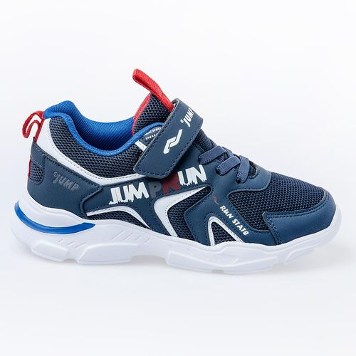 Jump 24747 Lacivert - Royal Mavi Erkek Çocuk Spor Ayakkabı