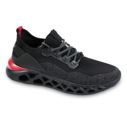 Jump - Jump 24757 Siyah - Kırmızı Erkek Spor Ayakkabı