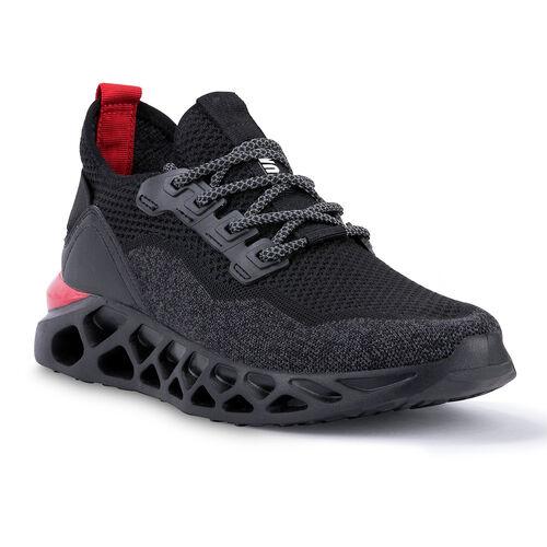 Jump 24757 Siyah - Kırmızı Erkek Spor Ayakkabı