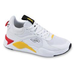 Jump - Jump 24770 Beyaz - Kırmızı Erkek Spor Ayakkabı