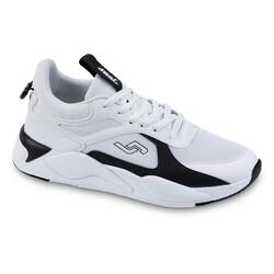 Jump - Jump 24770 Beyaz - Siyah Erkek Spor Ayakkabı