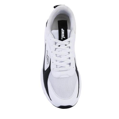Jump 24770 Beyaz - Siyah Erkek Spor Ayakkabı