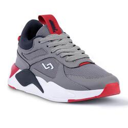 Jump - Jump 24770 Gri - Lacivert - Kırmızı Erkek Spor Ayakkabı (1)