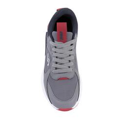Jump 24770 Gri - Lacivert - Kırmızı Erkek Spor Ayakkabı - Thumbnail