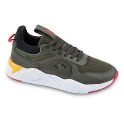 Jump - Jump 24770 Haki - Sarı - Siyah Erkek Spor Ayakkabı