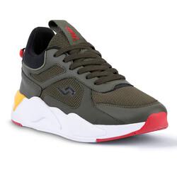 Jump - Jump 24770 Haki - Sarı - Siyah Erkek Spor Ayakkabı (1)