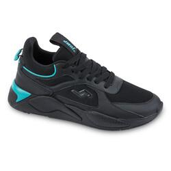 Jump - Jump 24770 Siyah - Mavi Erkek Spor Ayakkabı