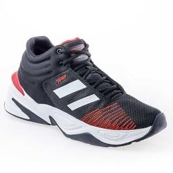Jump - Jump 24774 Siyah - Beyaz - Kırmızı Erkek Spor Ayakkabı (1)