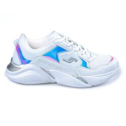 Jump - Jump 24800 Beyaz Kadın Spor Ayakkabı