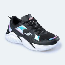 Jump - Jump 24800 Siyah - Somon Pembe Kadın Spor Ayakkabı (1)
