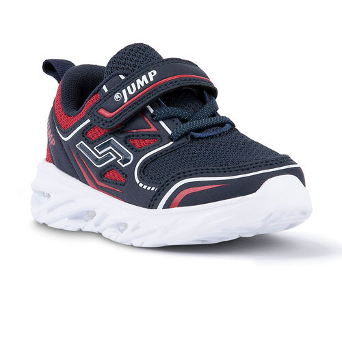 Jump 24805 Lacivert - Kırmızı Erkek Çocuk Spor Ayakkabı