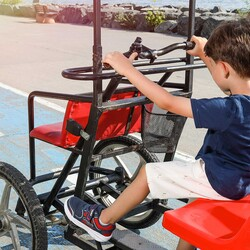 Jump 24805 Lacivert - Kırmızı Erkek Çocuk Spor Ayakkabı - Thumbnail