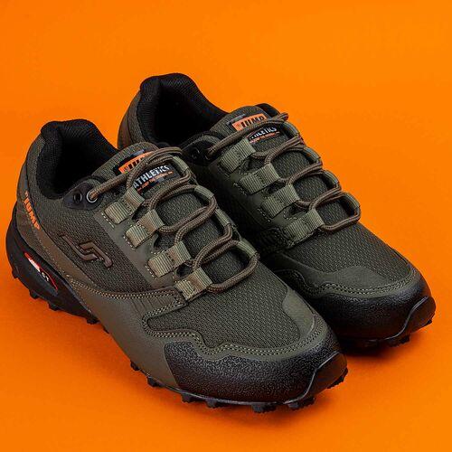Jump 24810 Haki - Siyah - Turuncu Erkek Outdoor Spor Ayakkabı