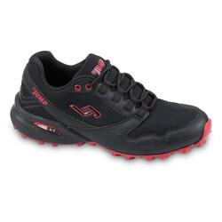 Jump 24810 Siyah - Kırmızı Erkek Outdoor Spor Ayakkabı - Thumbnail