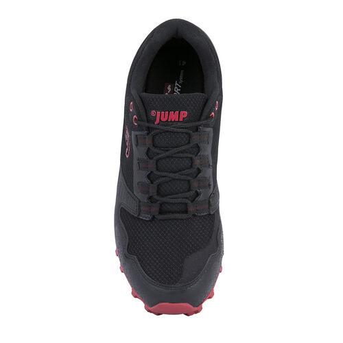 Jump 24810 Siyah - Kırmızı Erkek Outdoor Spor Ayakkabı
