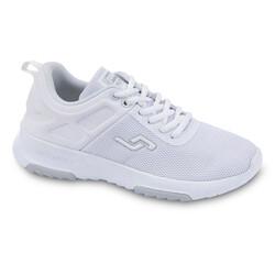 Jump - Jump 24879 Beyaz - Gümüş Kadın Spor Ayakkabı