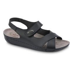 Jump - Jump 25140 Siyah Kadın Sandalet