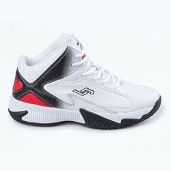 Jump - Jump 25528 Beyaz - Siyah - Kırmızı Erkek Spor Ayakkabı
