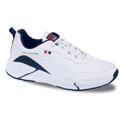 Jump - Jump 25662 Beyaz - Lacivert Erkek Spor Ayakkabı