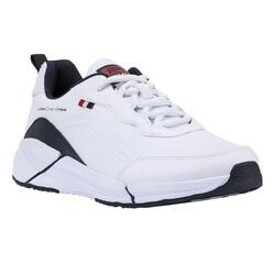 Jump - Jump 25662 Beyaz - Lacivert Erkek Spor Ayakkabı (1)