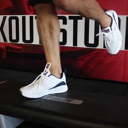 Jump 25662 Beyaz - Lacivert Erkek Spor Ayakkabı - Thumbnail
