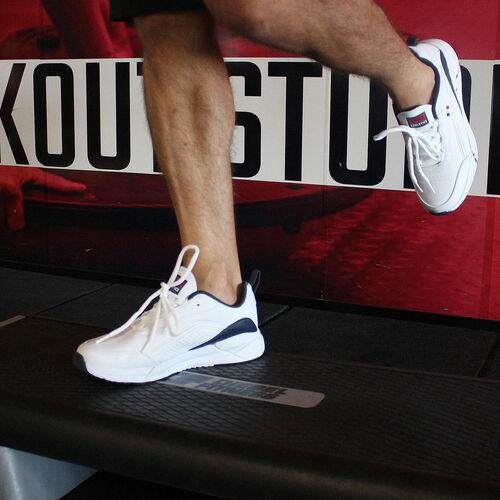 Jump 25662 Beyaz - Lacivert Erkek Spor Ayakkabı