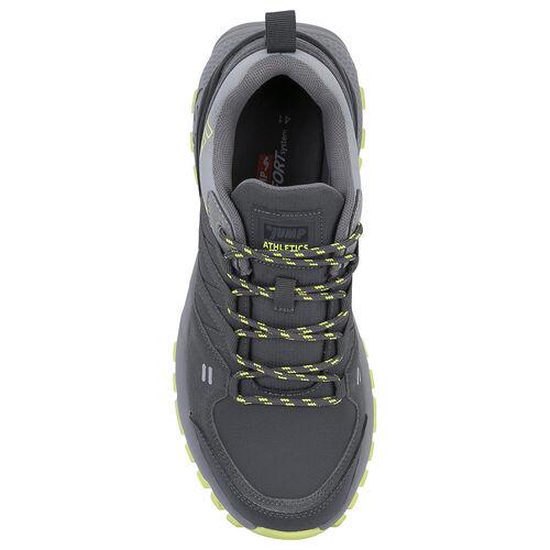 Jump 25676 Koyu Gri - Neon Yeşil Erkek Outdoor Spor Ayakkabı