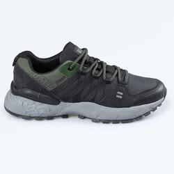 Jump 25676 Siyah - Haki Gri Erkek Outdoor Spor Ayakkabı - Thumbnail