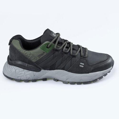 Jump 25676 Siyah - Haki Gri Erkek Outdoor Spor Ayakkabı