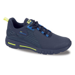 Jump - Jump 25703 Lacivert - Royal Mavi - Neon Yeşil Erkek Spor Ayakkabı