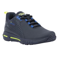 Jump - Jump 25703 Lacivert - Royal Mavi - Neon Yeşil Erkek Spor Ayakkabı (1)