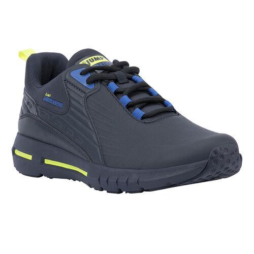 Jump 25703 Lacivert - Royal Mavi - Neon Yeşil Erkek Spor Ayakkabı