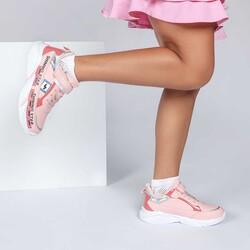 Jump 25791 Somon Pembe Kız Çocuk Spor Ayakkabı - Thumbnail
