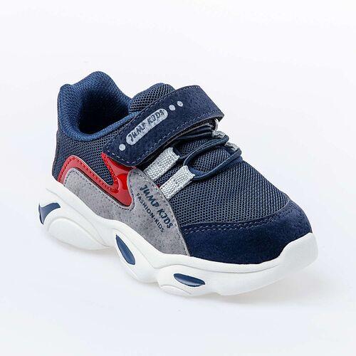 Jump 25833 Lacivert - Kırmızı Uniseks Çocuk Spor Ayakkabı