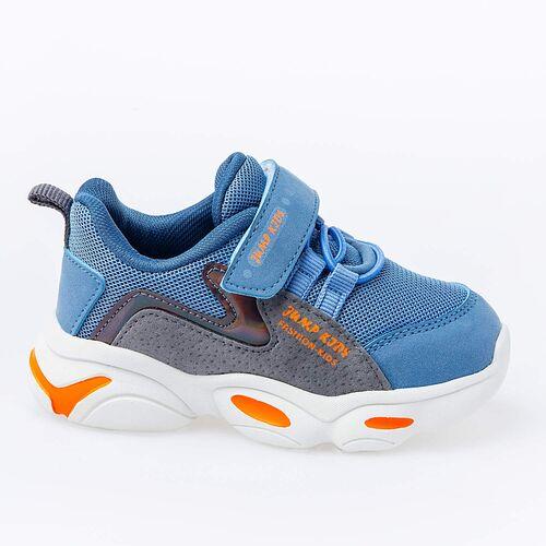 Jump 25833 Mavi - Gri - Yeşil Uniseks Çocuk Spor Ayakkabı